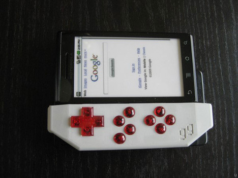 Game Gripper for your Motorola Droid