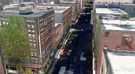 New York City In 3D Thanks To Google Earth
