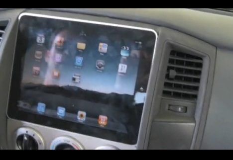 Video: iPad Installed Into A Vehicle