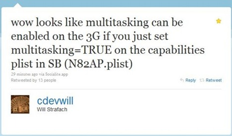 Multitasking Possible For iPhone 2G and 3G In iPhone OS 4.0?