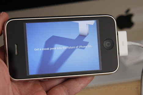 Apple's Announcement of the iPhone OS 4.0