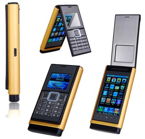 N933 Flip Phone Looks LIke An iPhone Flip