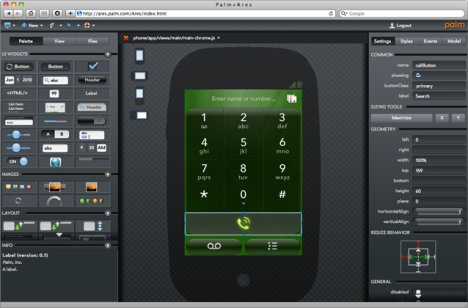 Palm Project Ares Boosts App Development