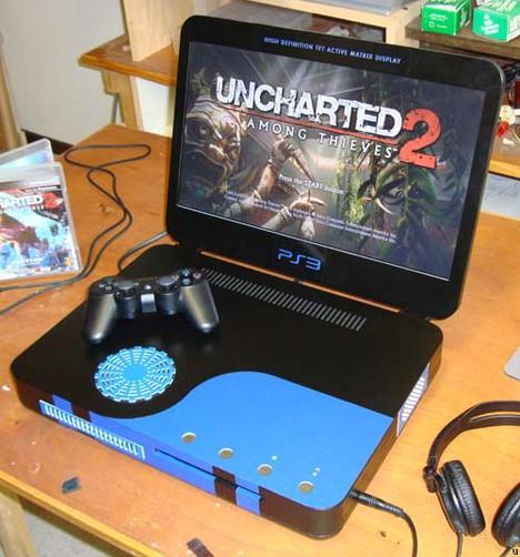 Ben Heck has new Playstation 3 Laptop