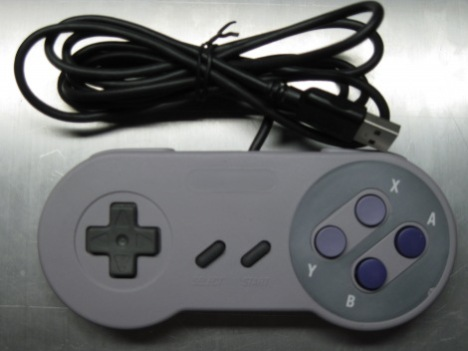 USB SNES Controller With Accelerometer