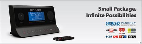 Grace Digital Audio Solo Wi-Fi Internet radio tuner