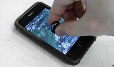 Physical touchscreen knob makes its way to the iPhone