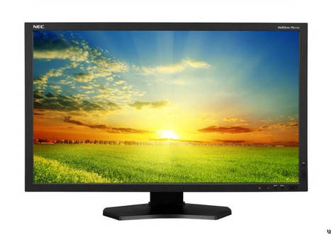 NEC MultiSync PA271W LCD monitor targets professionals