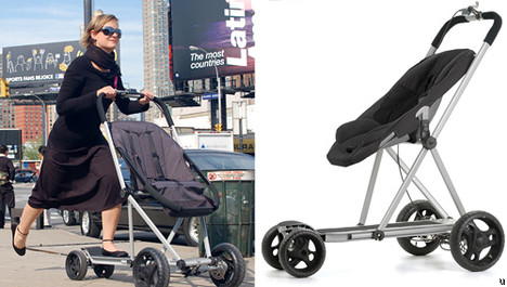Roller Buggy concept dangerous to baby within