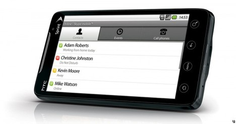 Skype Mobile making its way to the Sprint HTC EVO 4G