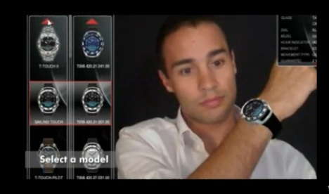 Tissot Lets You Try Its T-Touch Watches Via Augmented Reality
