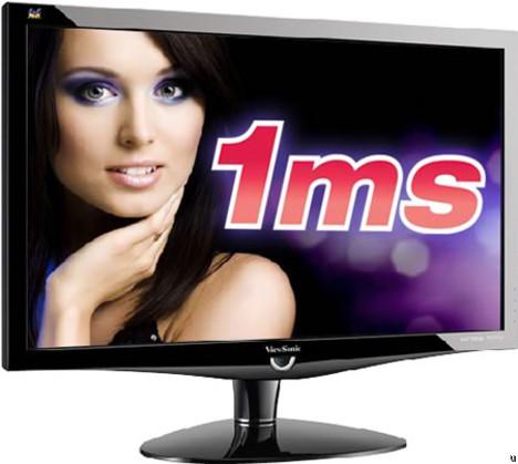 ViewSonic VX2379wm LCD monitor offers unprecedented 1ms response time