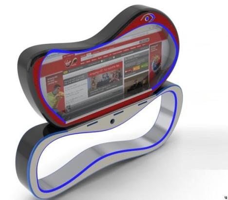 Virgin Media Laptop concept