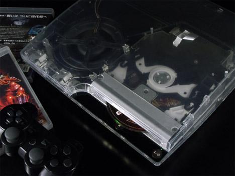 XCM Cyberbot Transparent PS3 Slim Case