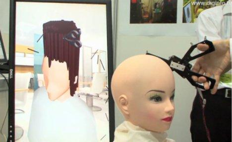 Air Hair Virtual Haircut Training