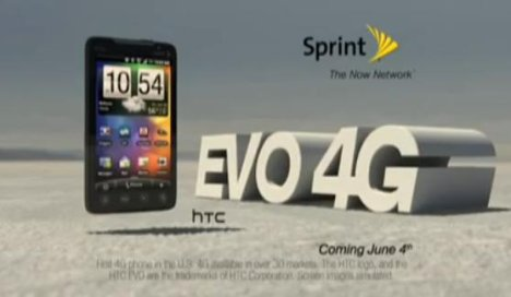 Sprint Releases Promotional Video Of The HTC EVO 4G