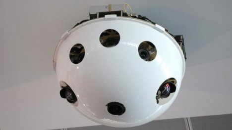 Imaging System for Immersive Surveillance Sees 360 Degrees
