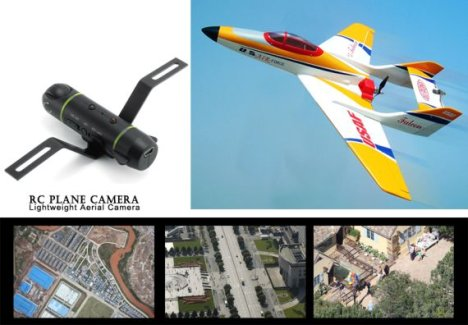 RC Plane Camera Is A Lightweight Aerial Camera