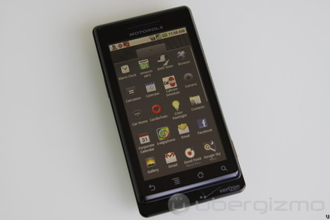 Android 2.2 FroYo ROM For Motorola Droid Leaked