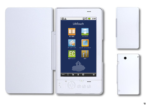 NEC LifeTouch Android-powered tablet