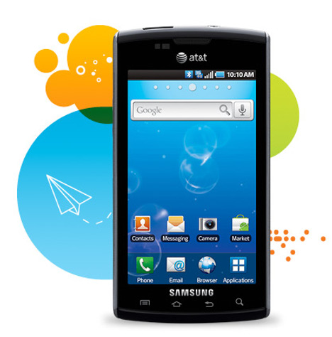 AT&T Announces The Android-powered Samsung Captivate