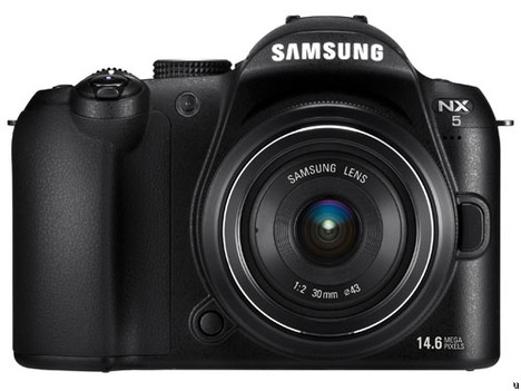 Samsung NX5 is finally official