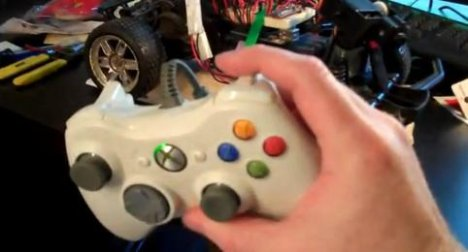 Remote Control Car Controlled By Xbox 360 Controller