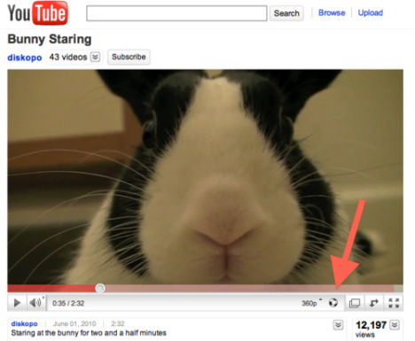 YouTube Adds A Vuvuzela Button To Its Videos