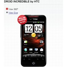 HTC Droid Incredible Ship Date Pushed To August