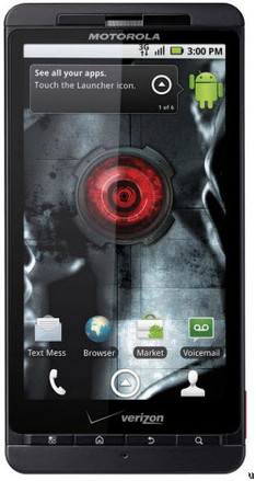 Motorola Droid X HDMI Output Only Supports Pics And Vids Taken On The Device
