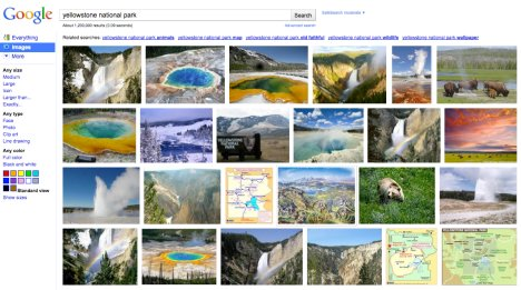 Google Image Search Gets An Interface Overhaul