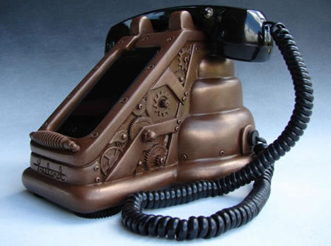 iRetrofone Steampunk Copper Edition