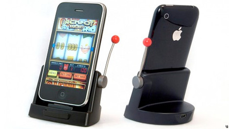 Jackpot Slots dock brings one-arm bandit to your home