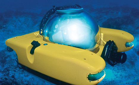 Personal Submarine is new mode of transport for uber rich