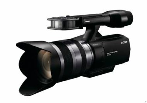 Sony NEX-VG10 interchangeable lens HD camcorder is first in the industry
