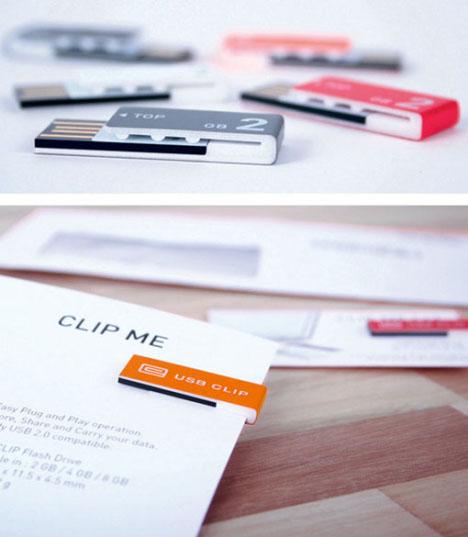 Concept: USB Clip Design