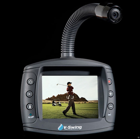 V-Swing is a camcorder that targets golfers