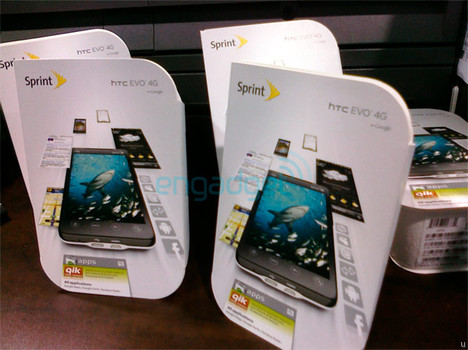 White HTC EVO 4G arrives at Best Buy