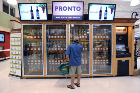 Wine Vending Machine Checks Your ID Before Approving Your Purchase