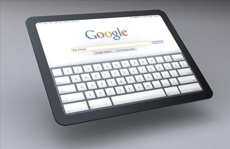 Google Involved In Motorola's Upcoming Tablet Device?