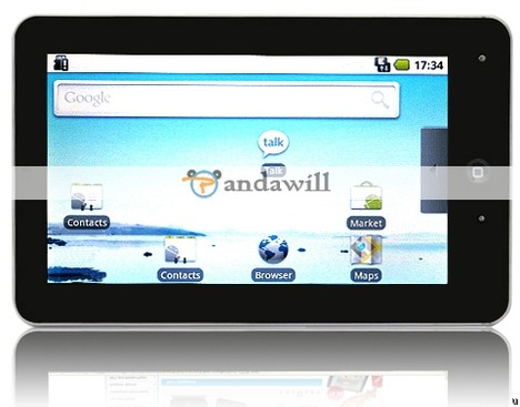 Gpad G10 tablet runs off Android OS as well