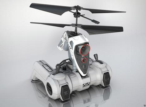 Hawk Eye RC chopper takes to the skies