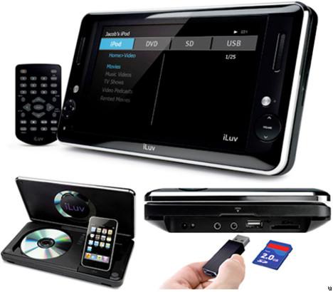 iLuv i1166 portable media player