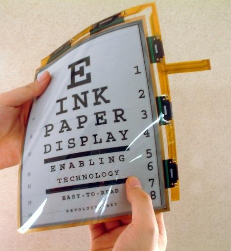 LG's New E-Paper Promises Flexible, Color Displays