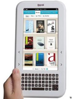Sharper Image unveils Literati eReader