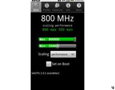 SetCPU for Android ekes out even more performance from your smartphone