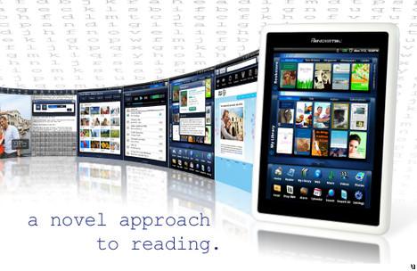 Pandigital ships second Pandigital Novel eReader device, has integrated Barnes & Noble eBookstore