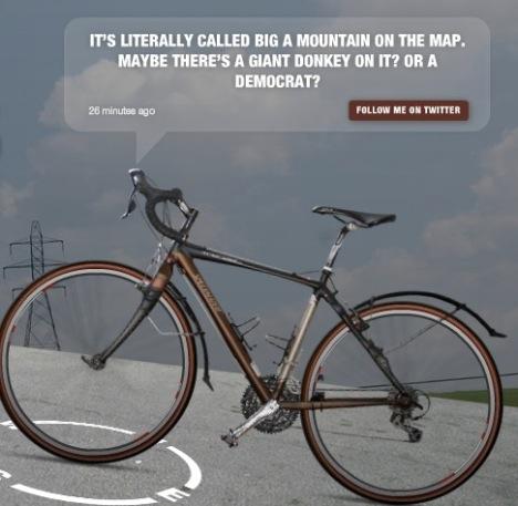 Precious Bike Will Tweet Its Biking Experiences
