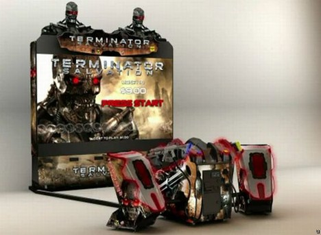 Terminator Salvation Super Deluxe Model brings exclusivity to gamers