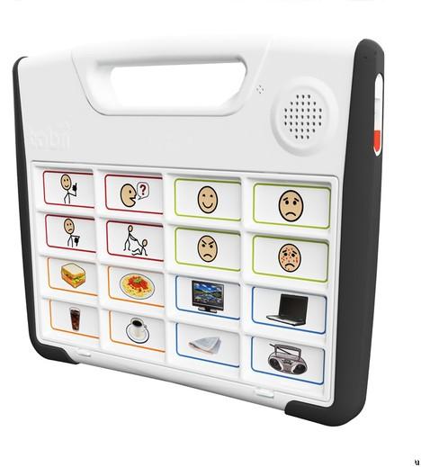 Tobii S32 recorded speech device